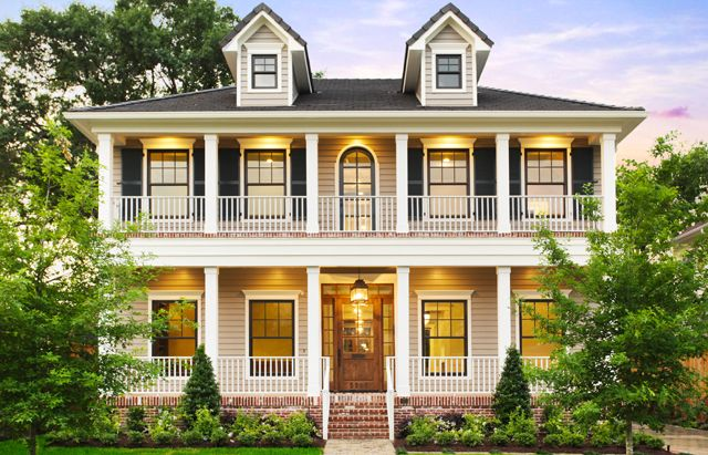 I Would Just Die My Obsession With Porches Esp Wrap Arounds Is Crazy Ill Take A Double Deck Too Porch House Plans Southern House Plans House Exterior