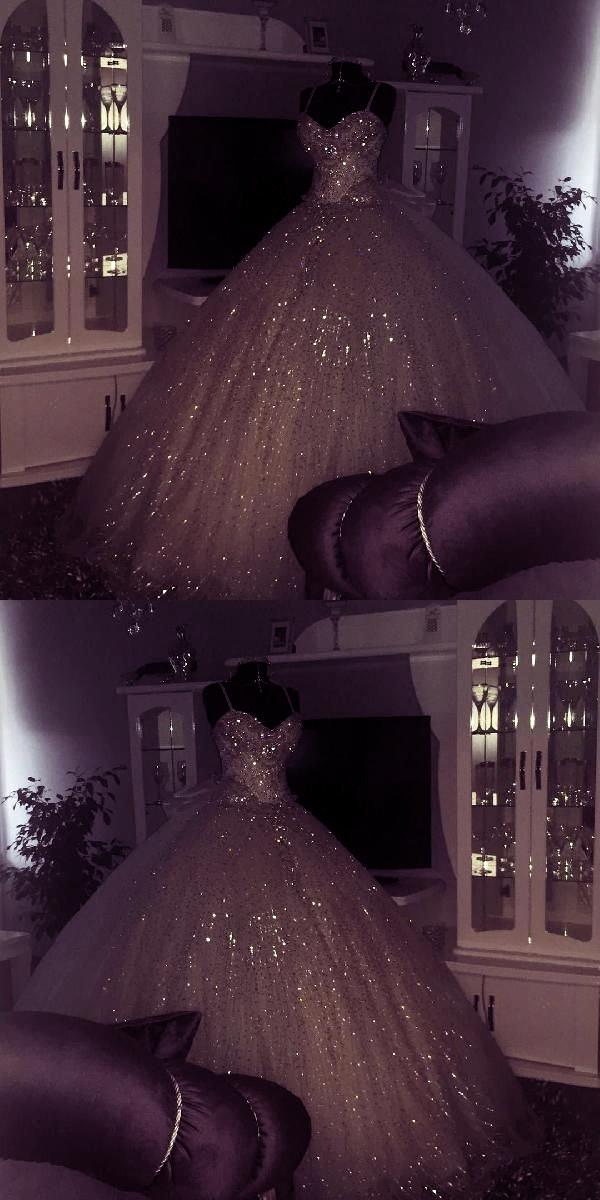 Hot Sale Appealing Ball Gown Wedding Dress Ball Gowns Wedding Dresses Bling Blin
