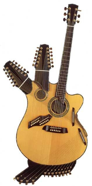 Harp Guitars of the Chinery Collection