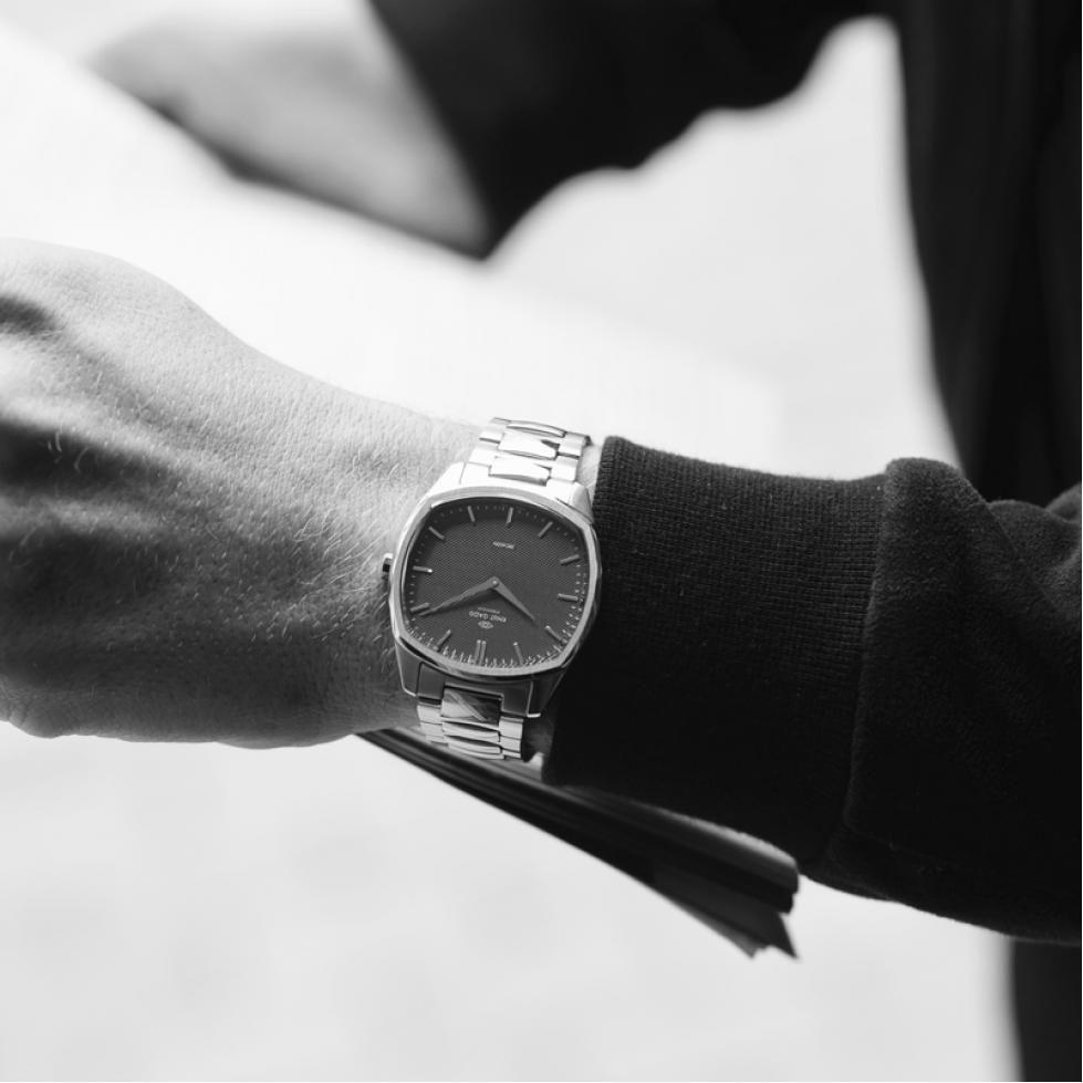 ساعة كنوت جاد السويدية Kg05sb Mesh Strap Mesh Strap Watch Fashion