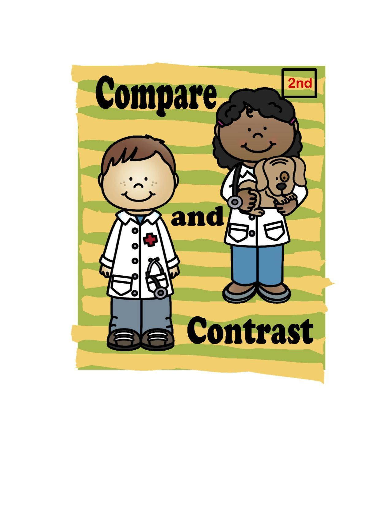 Reading Comprehension For 2nd Grade Compare And Contrast