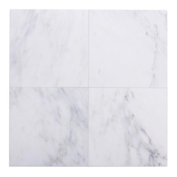 Carrara Venato Marble Wall And Floor Field Tile In Various Sizes And Finishes Flooring Carrara Shower Tile Designs