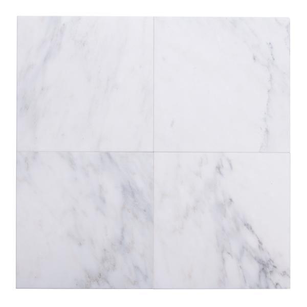 carrara venato marble wall and floor