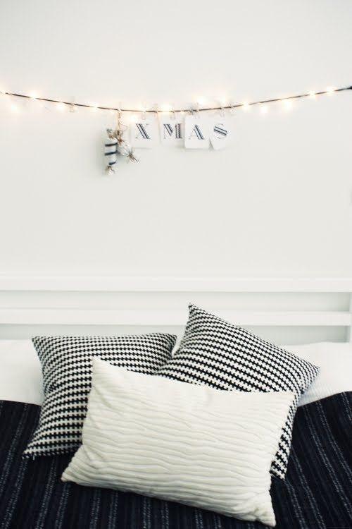 31 Minimalist Christmas Décor Ideas | DigsDigs. Love This Idea. So Cute For  Above
