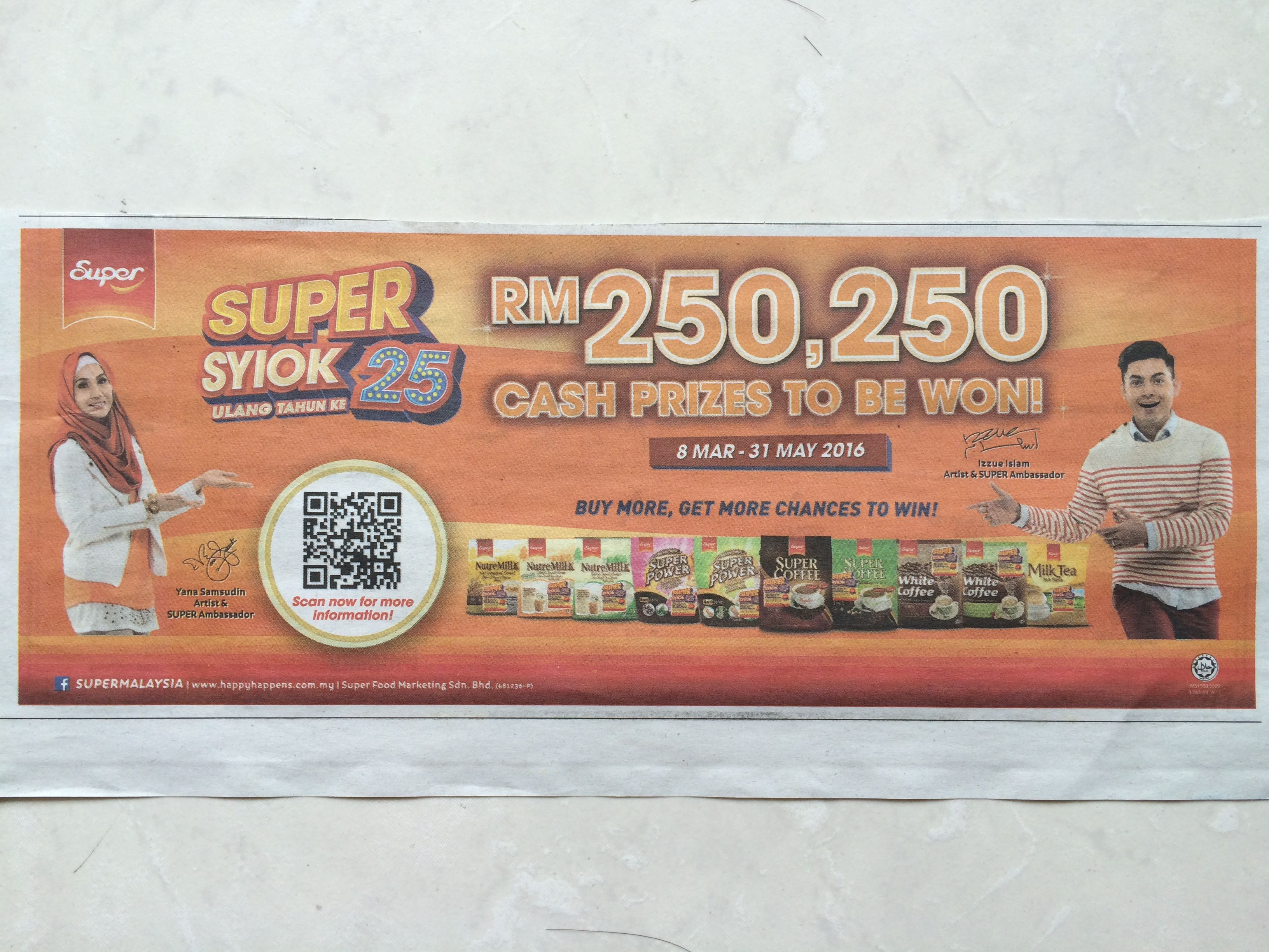 Super coffee malaysia promotion of investment forex dashboard correlator