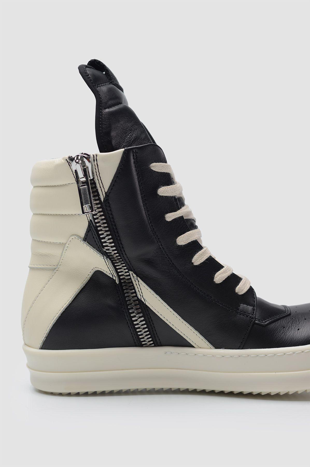 zip up high top sneakers