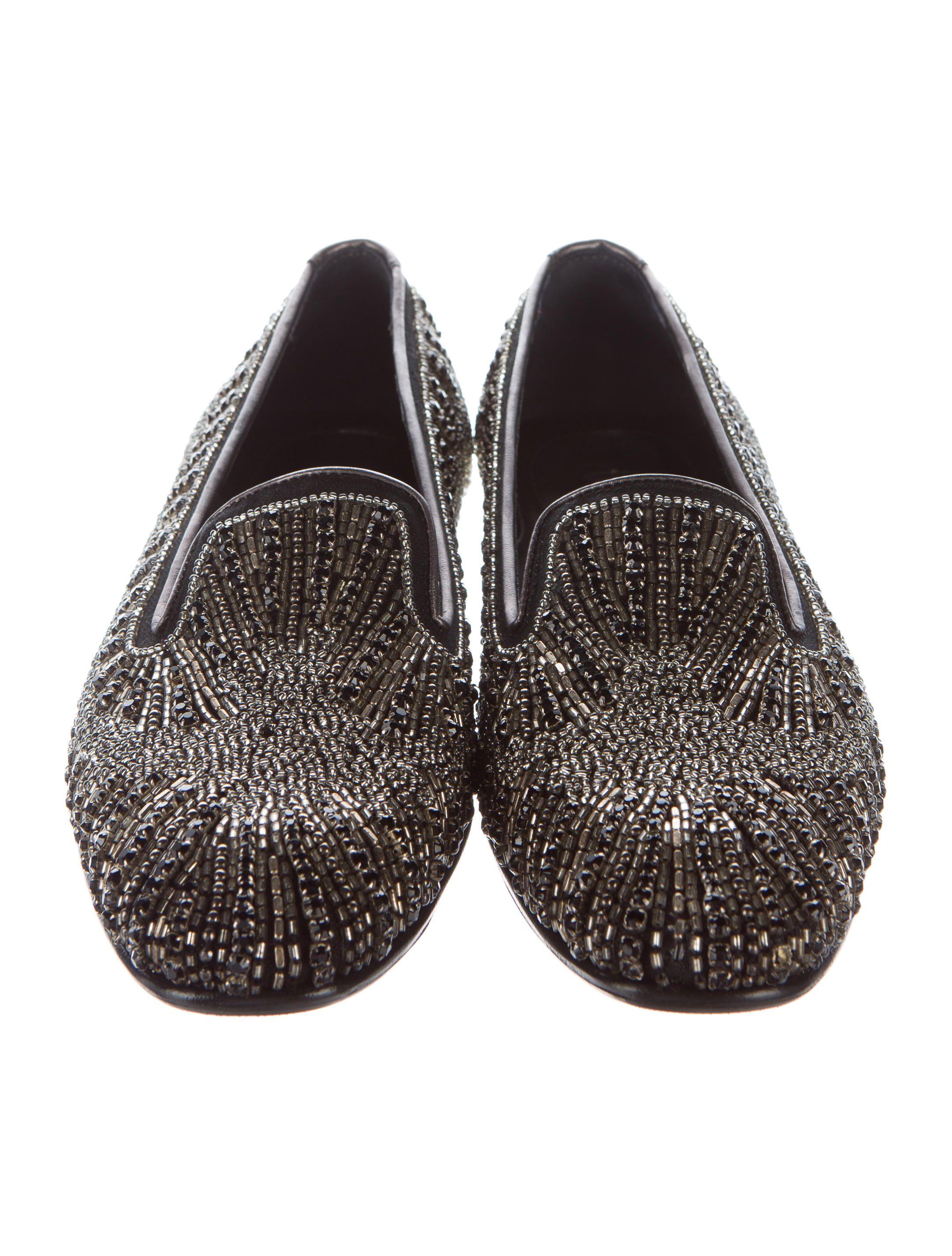 9289c8f6cc5 Donald J Pliner Embellished Round-Toe Loafers - Shoes - WDJ20118