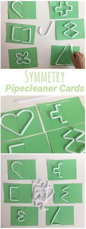Touch  Feel Symmetry Cards