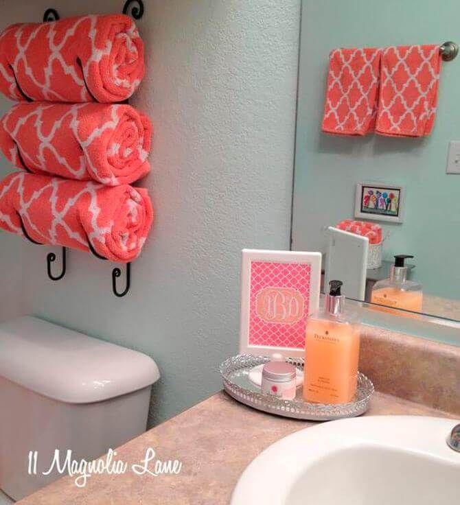 Quick And Easy Bathroom Organization Ideas Hacks That'll