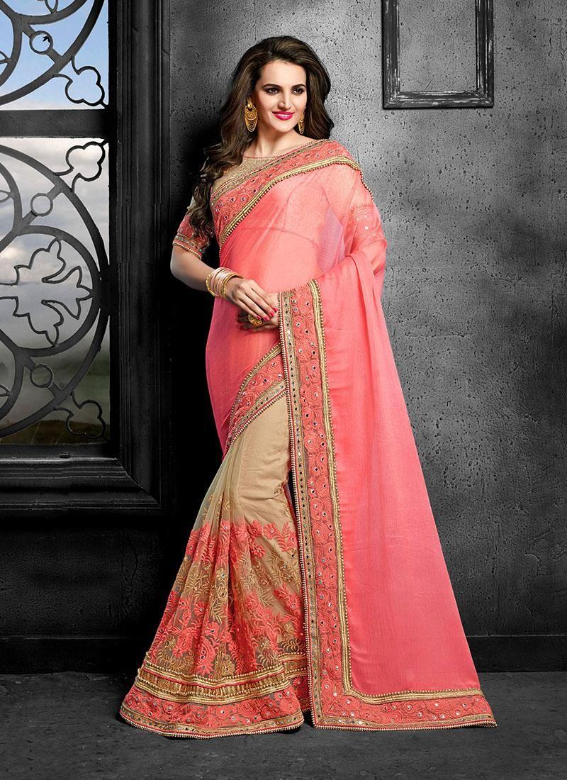 Delightful Magenta Designer Saree