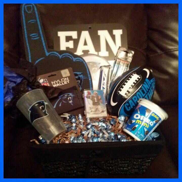 Carolina Panthers) Gift Baskets for every occasions!! | Daddy's ...