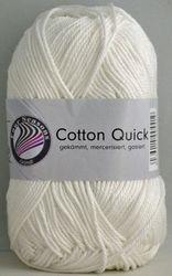 Cotton Quick wit 01 Gemerceriseerd nld. 3,5