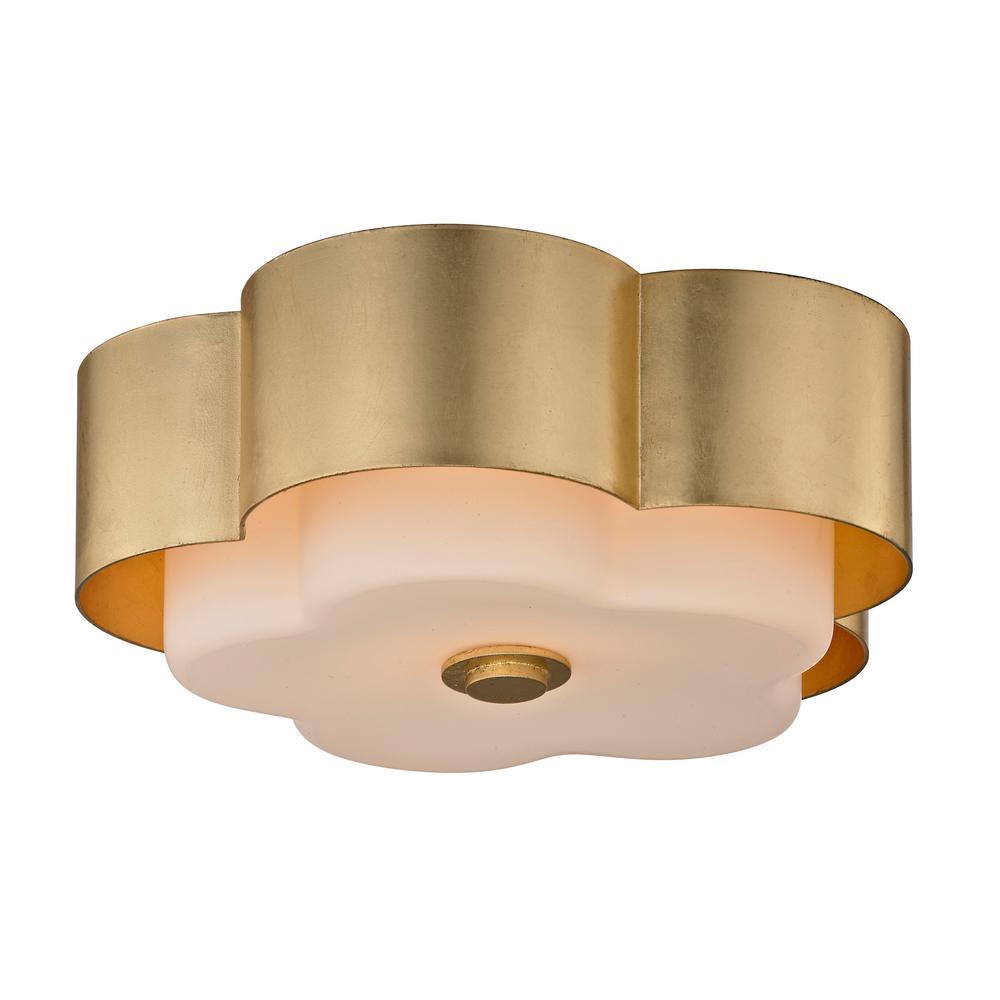 Troy Lighting Allure 2 Light Gold Leaf