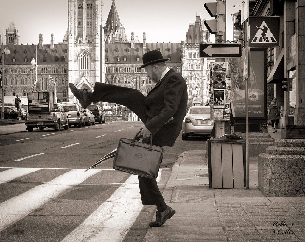 Ministry of Silly Walks by  Robin