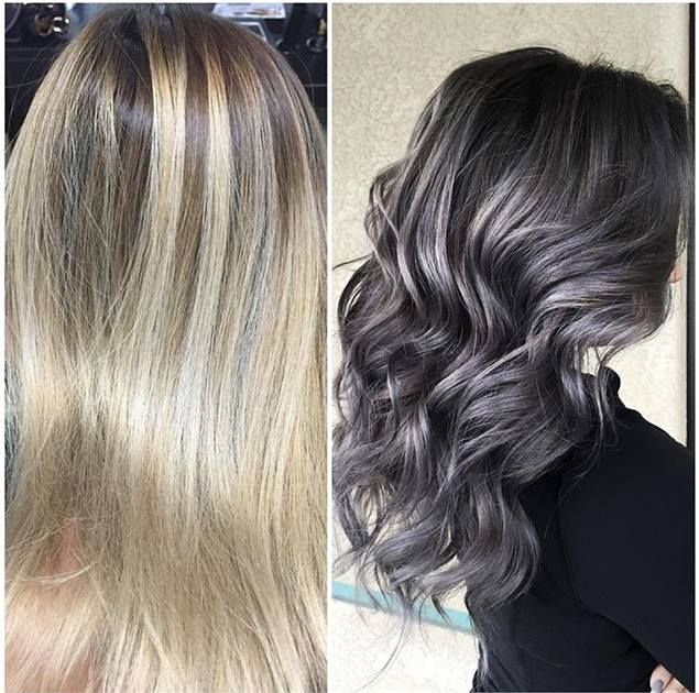 Stormy Weather Gray | Grey hair, Silver grey hair, Hair color