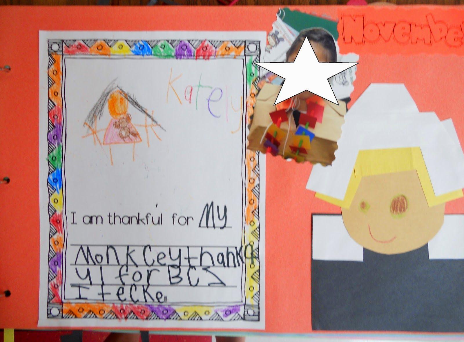 Kindergarten Memory Book Scrapbook