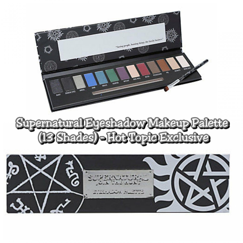 Supernatural Eyeshadow Makeup Palette 13 Different Shades Hot