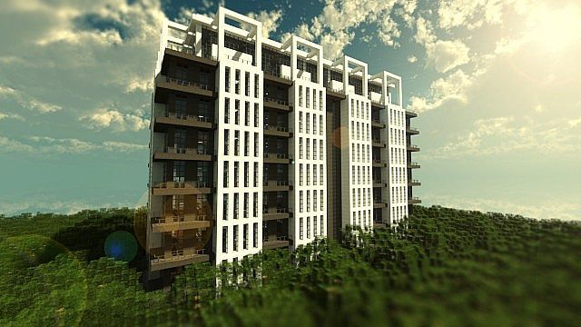 Minecraft Modern Apartments   Google Search