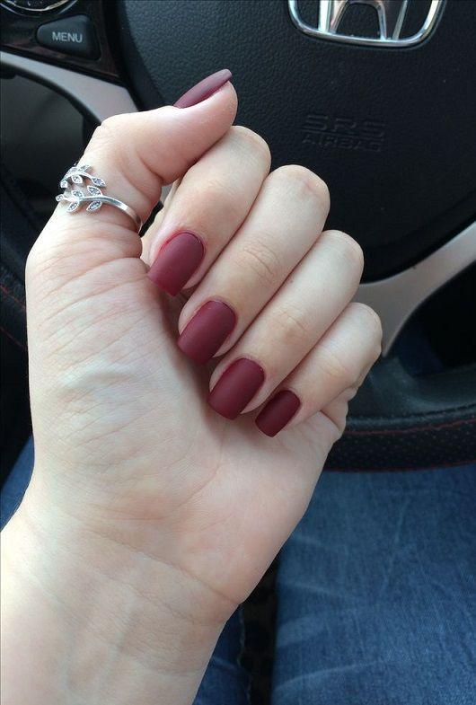 short square acrylic nails