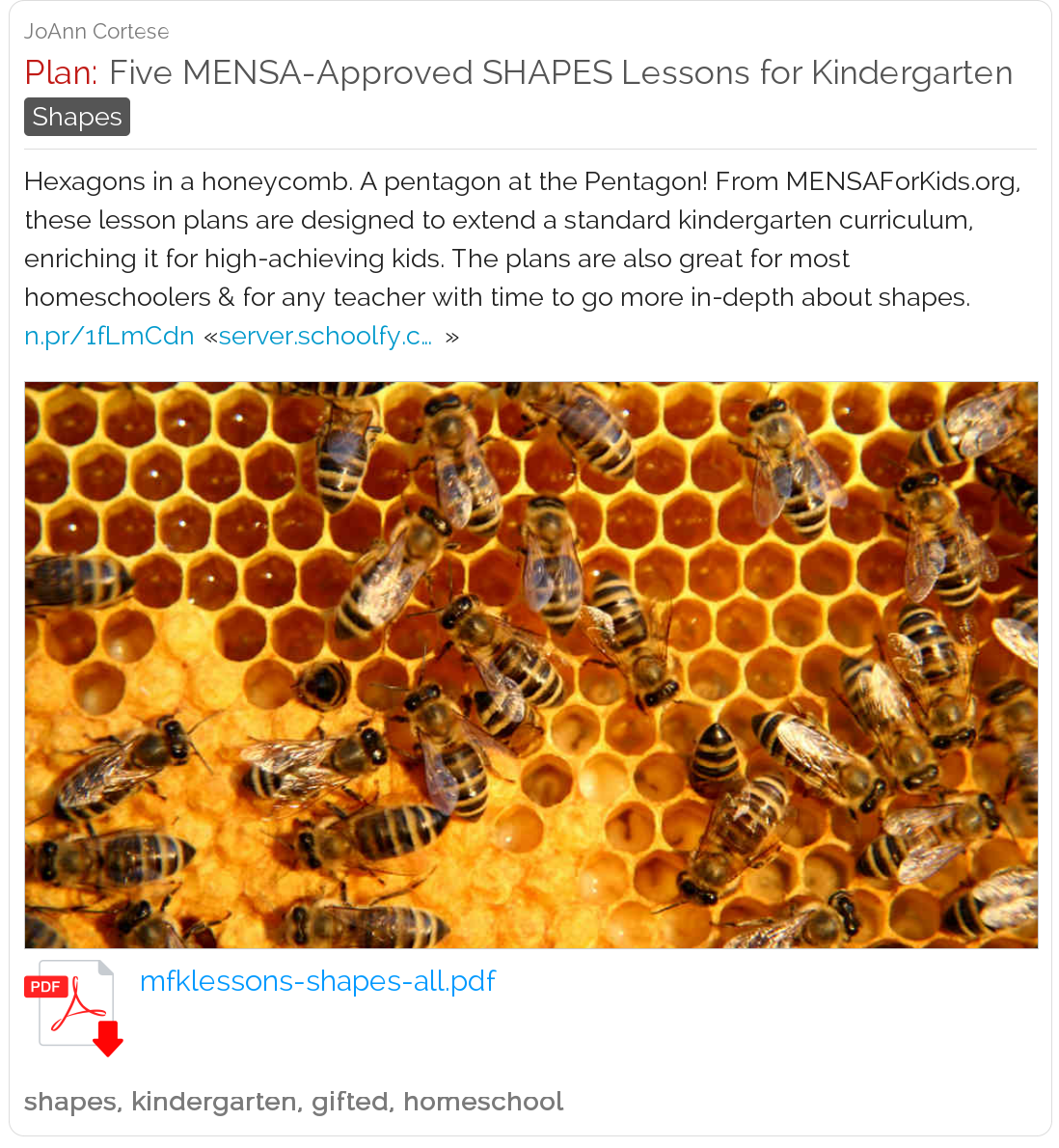 Five Mensa Approved Shapes Lessons For Kindergarten