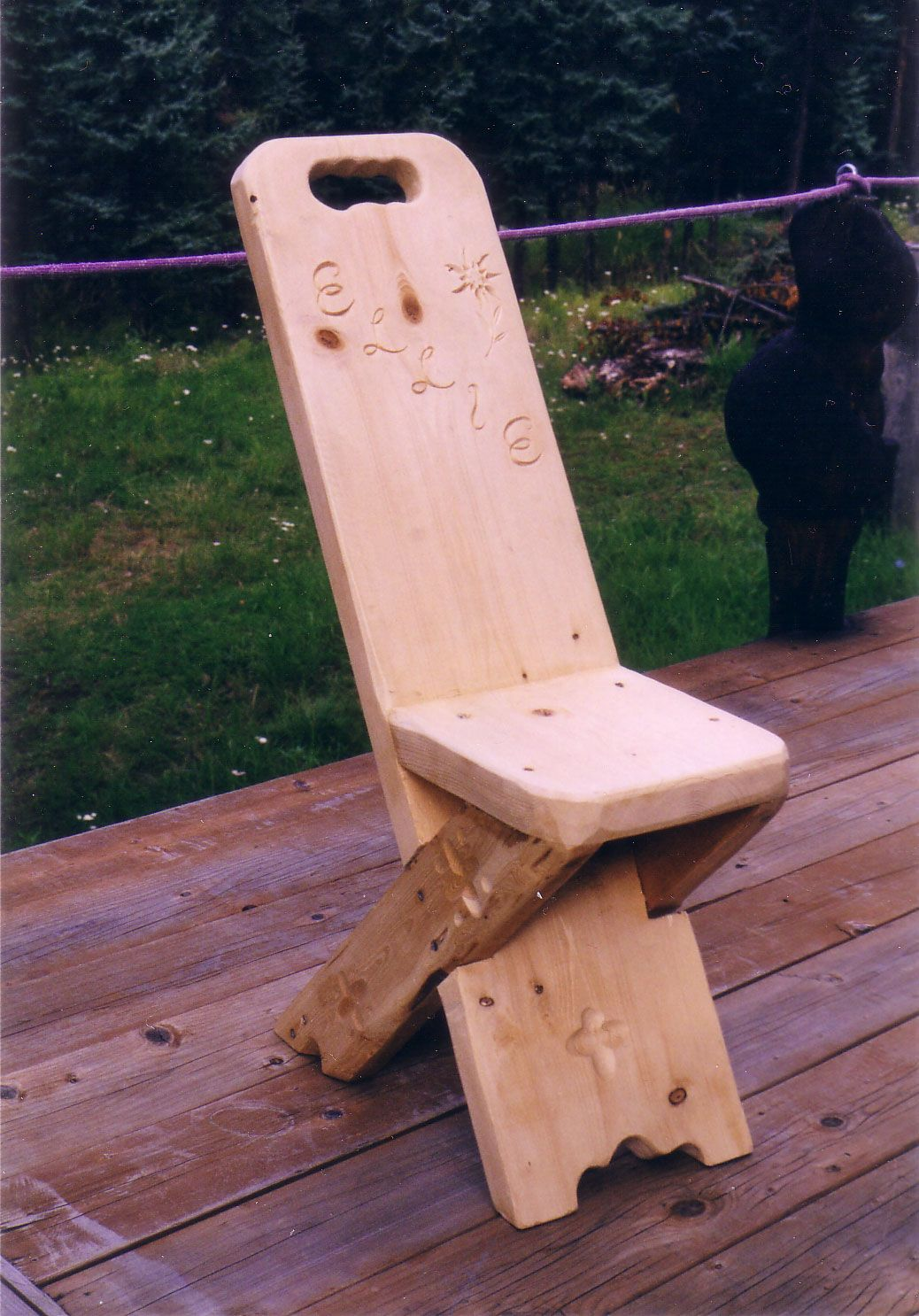 This Is A Simple Wooden Chair I Would Like To Make It