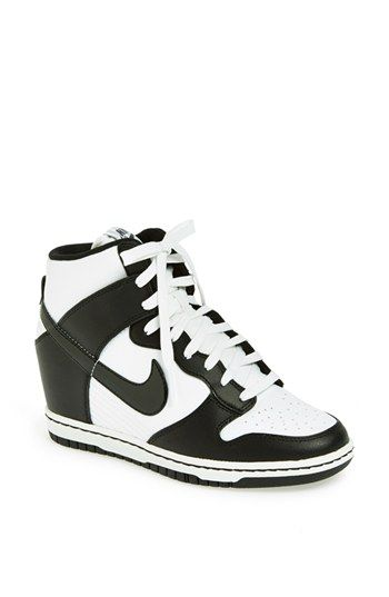 various colors 1088b c191e Nike  Dunk Sky Hi  Wedge Sneaker (Women) available at  Nordstrom the purple  dynasty color is So cute!