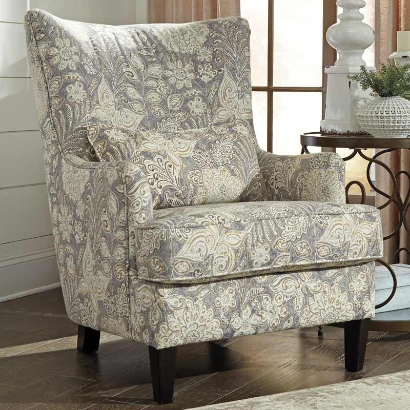Ashley Avelynne Linen Accent Chair Weekends Only Furniture And