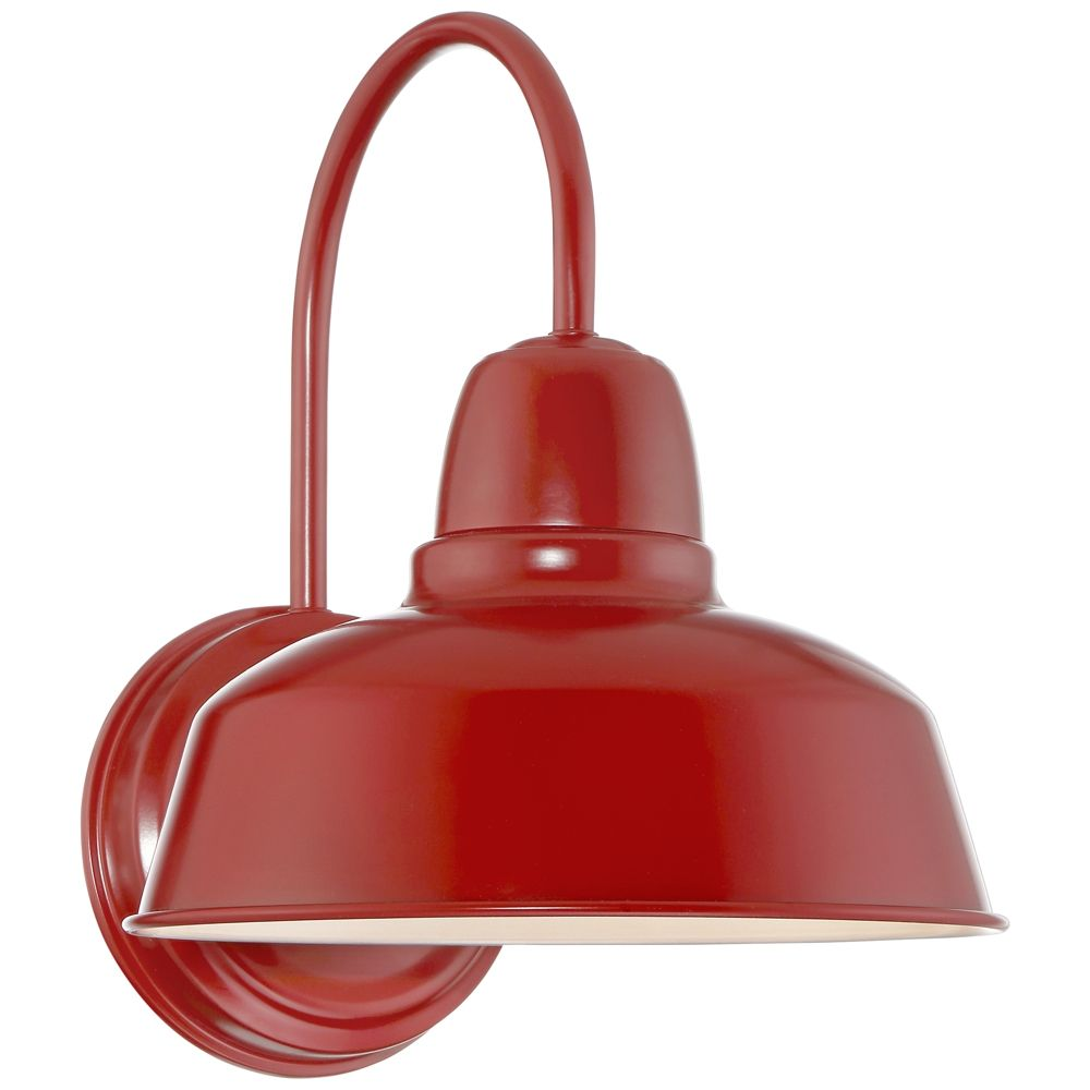 Urban Barn Collection 13 High Red Outdoor Wall Light Style 13f70