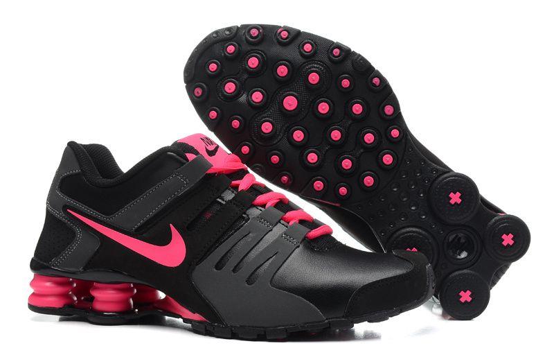 1c1e22705b5bf7 Nike Shox Black Rose Womens Shoes