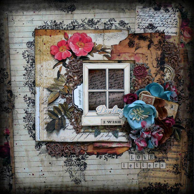 Love Letter  *Tresors de Luxe* - Scrapbook.com