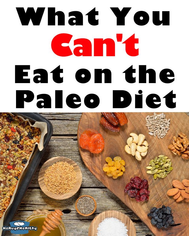what can you eat on a paleo diet