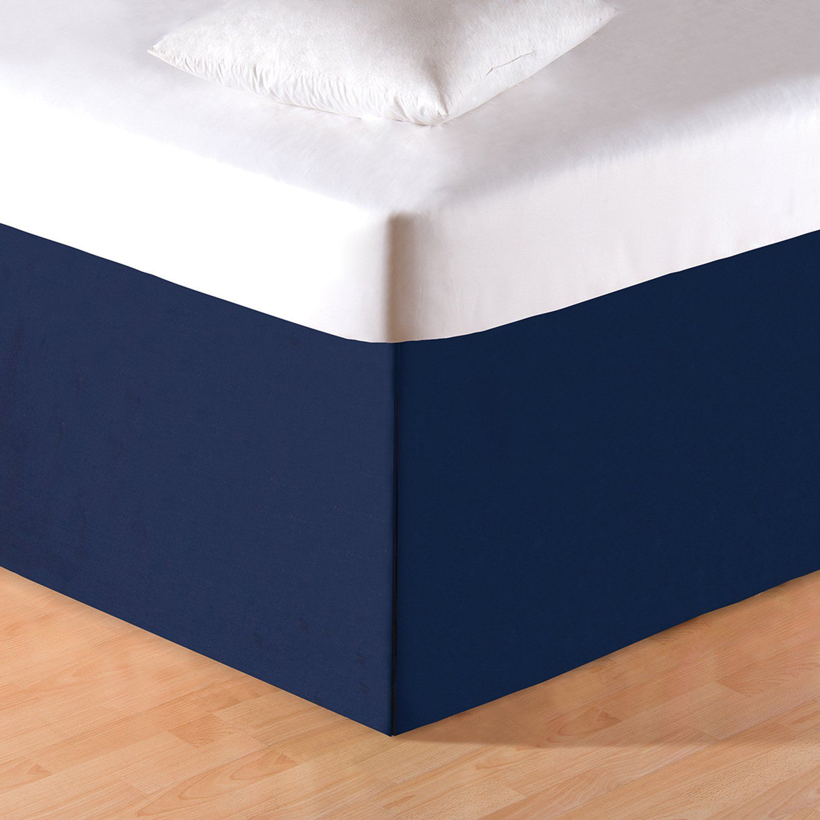 c and f enterprises solid blue dust ruffle 89660 788 products