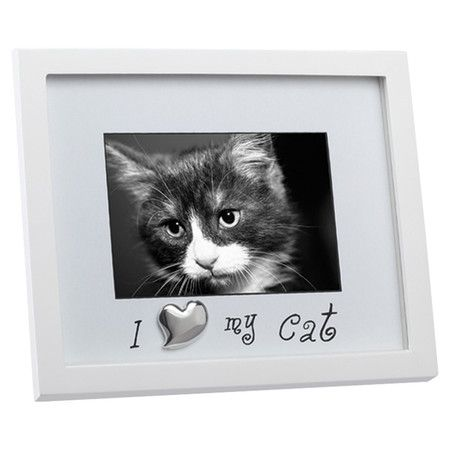 Found It At Wayfair I Love My Cat Picture Frame In White Wants