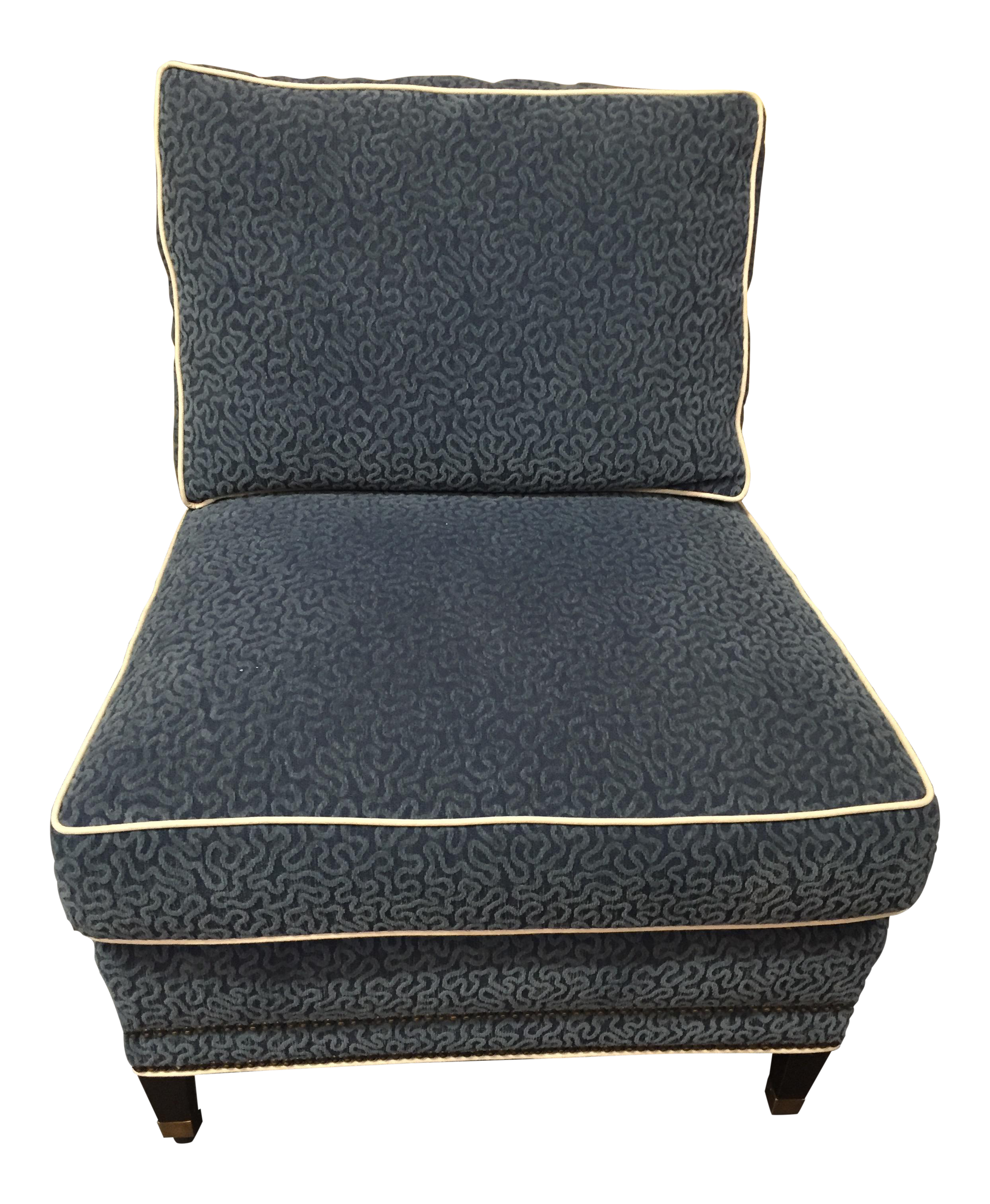 Blue Slipper Chair Blue Mayfair Slipper Chair On Chairish Shop Furniture