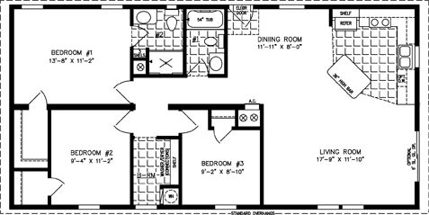 Jacobsen Homes Floor Plans