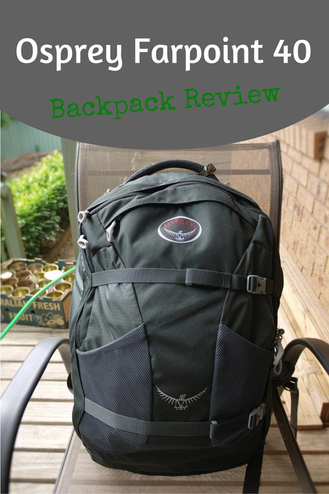 The Osprey Farpoint 40 is a great backpack for travelling carry-on only -  just one bag c4322b42e96a0