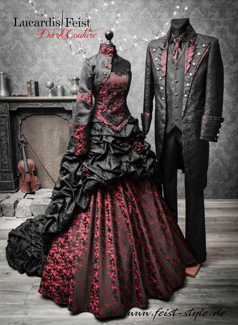 Winterprincess Dreamgown Feist Wildromantic Snowqueen Etsy Black Bridal Black Wedding Gowns Black Wedding Dresses [ 1082 x 794 Pixel ]