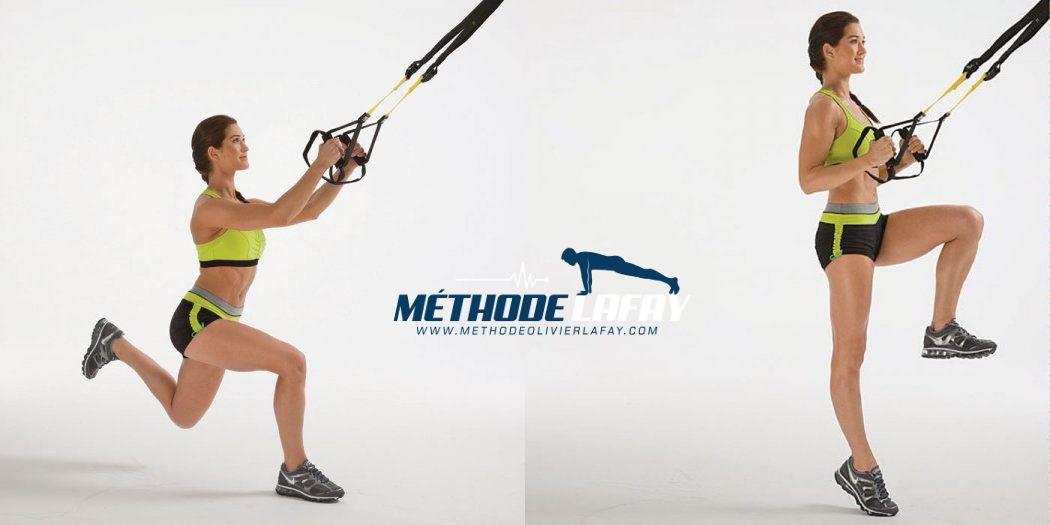 Exercice levé de genoux TRX   Exercice