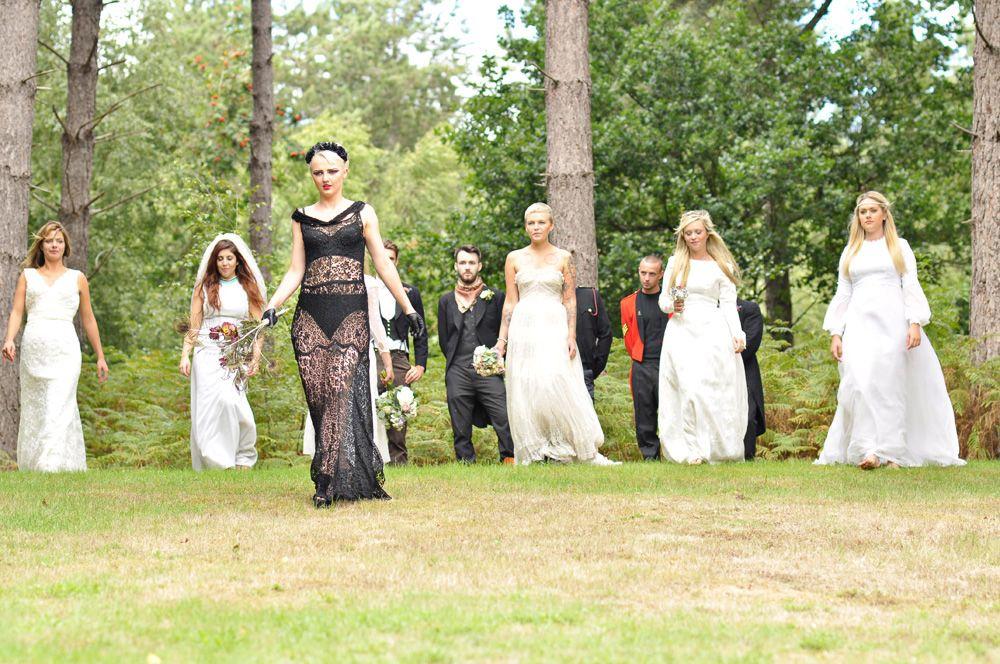 Outdoor Weddings Alternative Wedding Venue North West Norfolk Festival Woodland