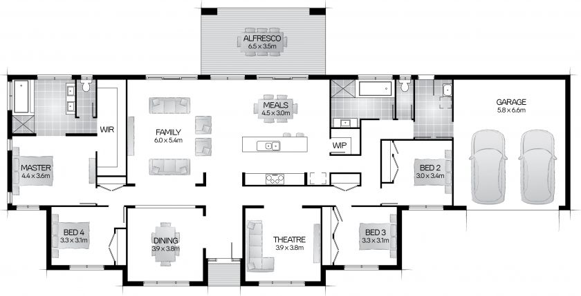 Maitland 32 - Clarendon Homes QLD | Houses | Pinterest | Display ...
