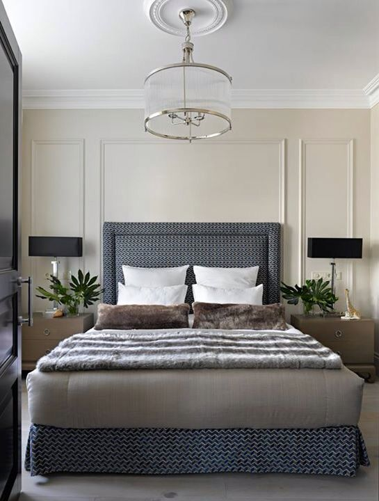 Bed bedroom Russian production Elle Decoration Russia