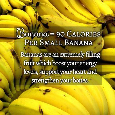 Banana 90 Calories Per Small Banana Vegetarian Nutrition Whole Food Recipes Banana