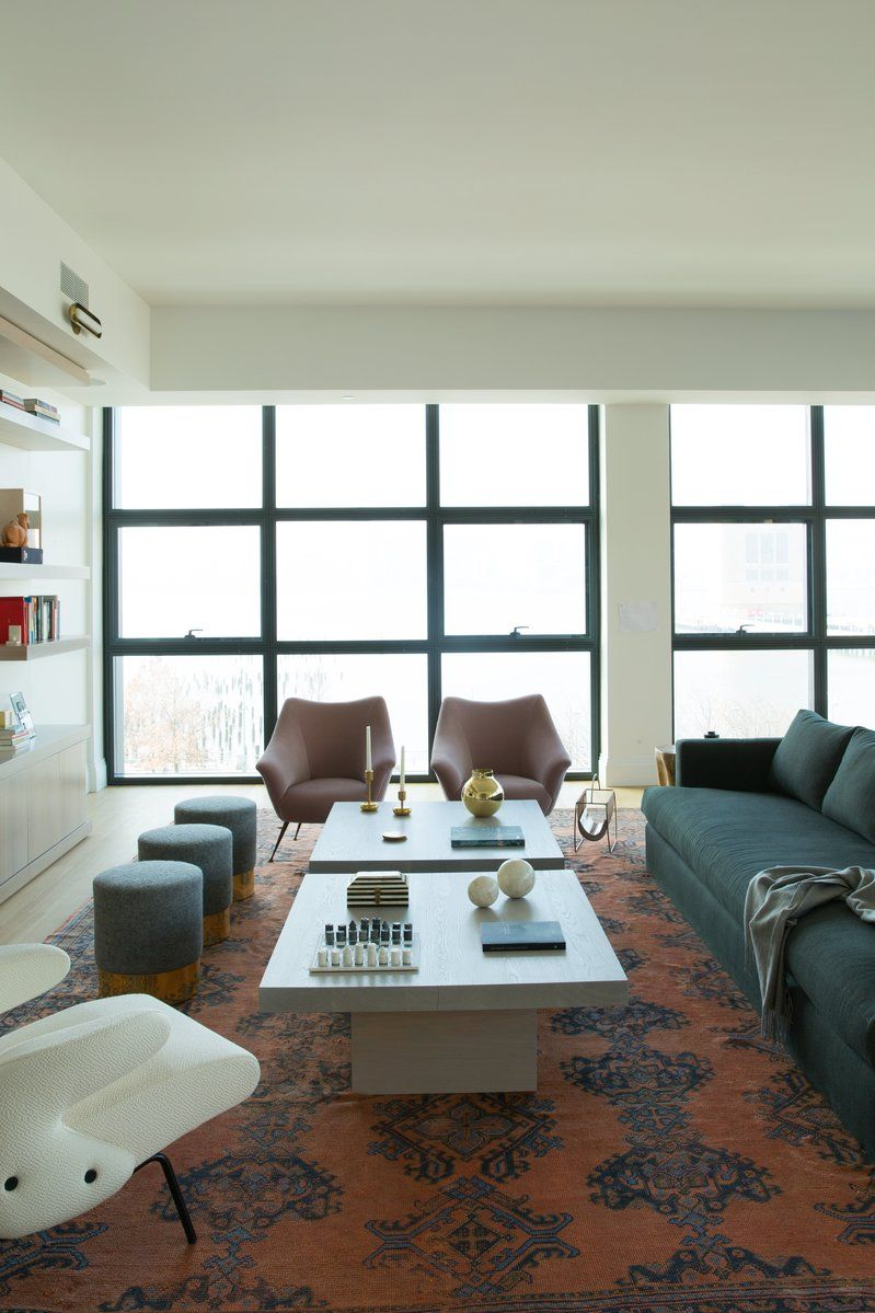 Attractive Contemporary Living Room In New York, NY By Ashe + Leandro