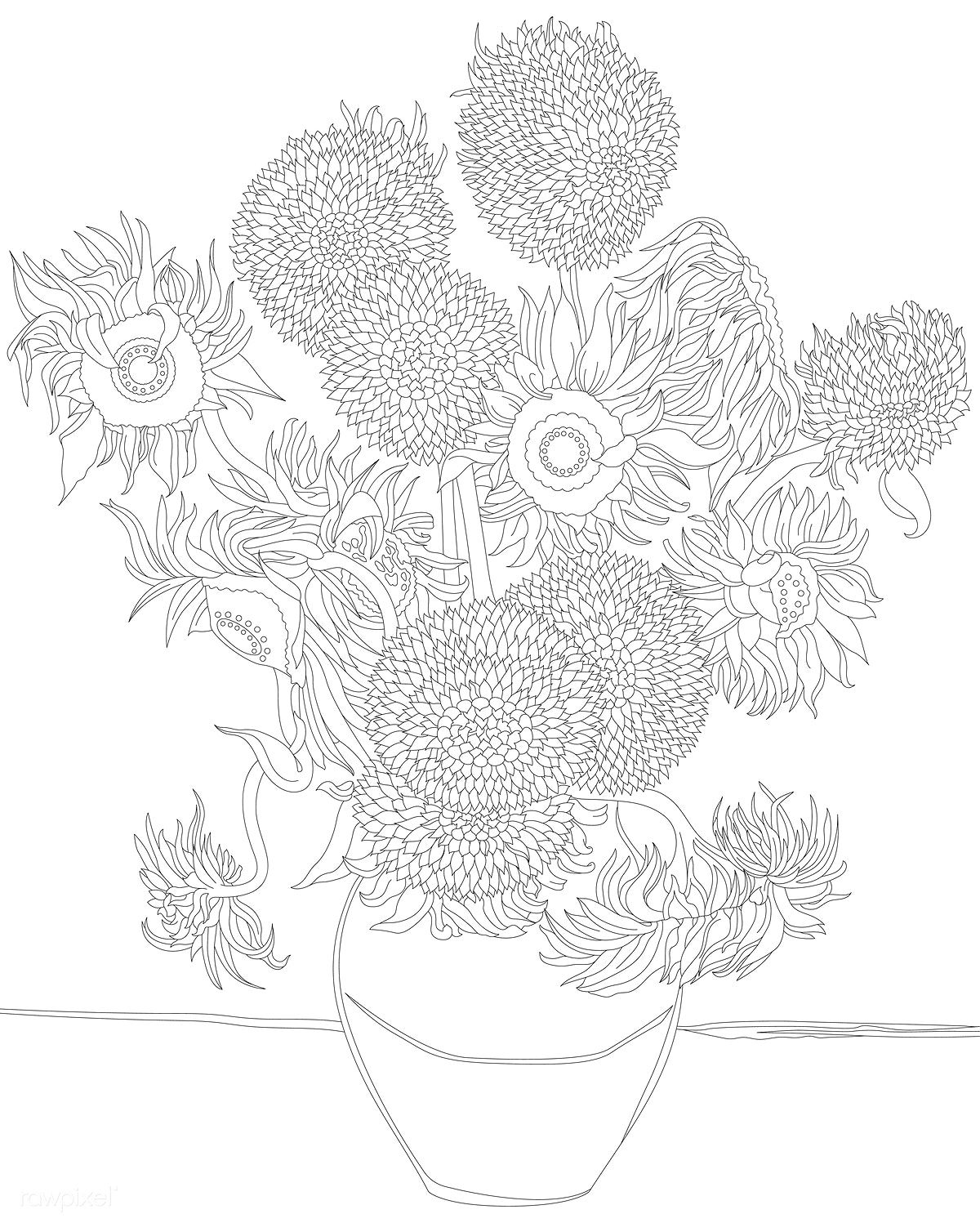 43+ Van gogh coloring pages free trends