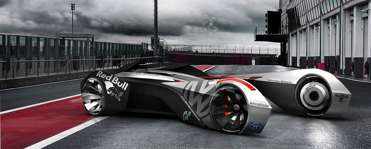Benoît Cauet Volkswagen WolfRacer Vision Gran Turismo on