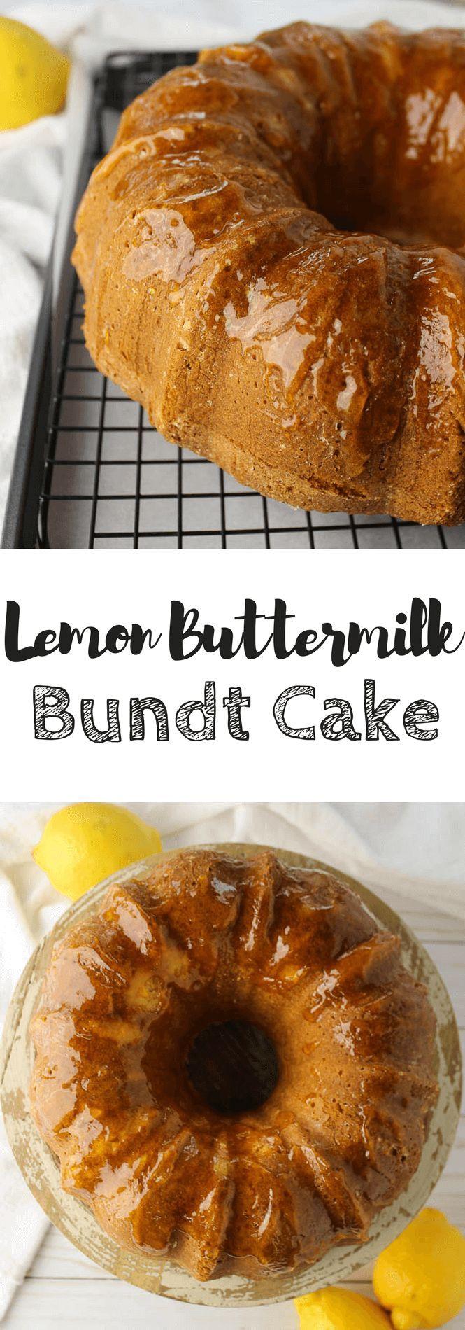 Lemon Buttermilk Bundt Cake Simply Made Recipes Recipe Yummy Food Dessert Dessert Recipes Easy Delicious Cake Recipes