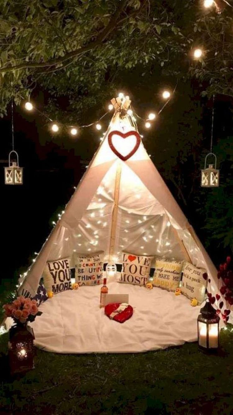 The Ultimate Step By Step Guide To Have The Best Valentine S Without A Valentine Valentine S Home Decoration Romantic Picnics Romantic Surprise