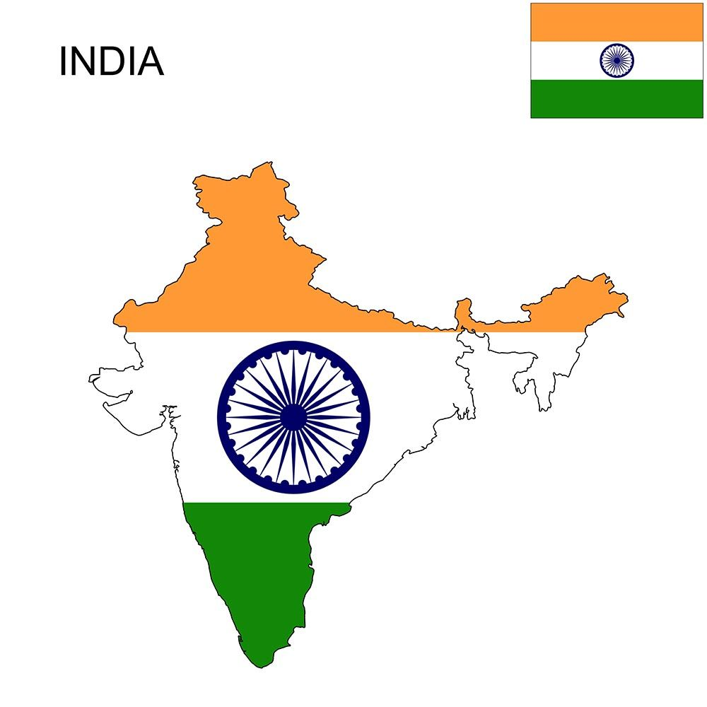 Indian Flag With Map on indian print with flag, indian map with key, indian man with flag, india flag,
