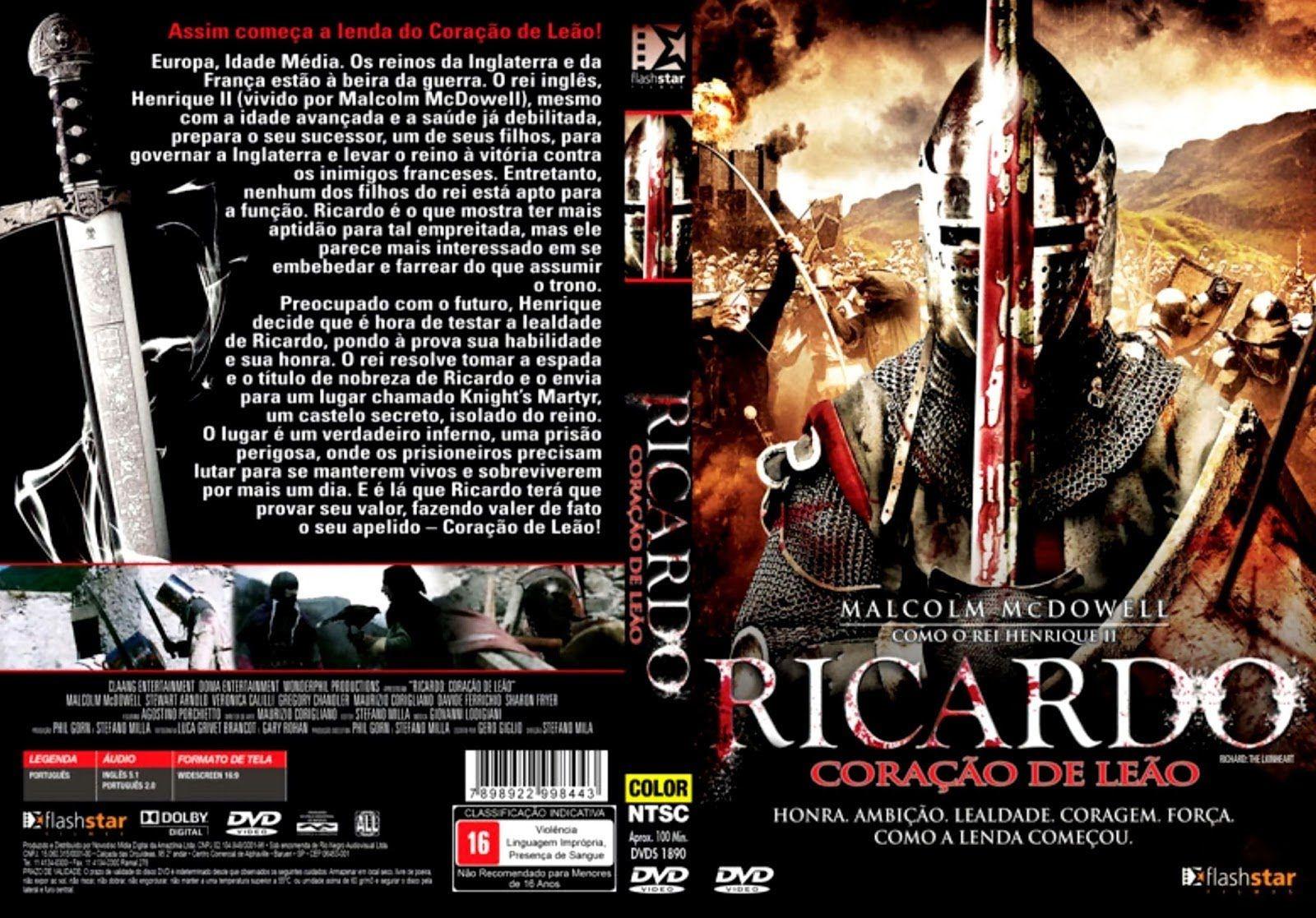 Ricardo Coracao De Leao Filme Completo Dublado Filmes Portugueses Filmes Filmes Completos