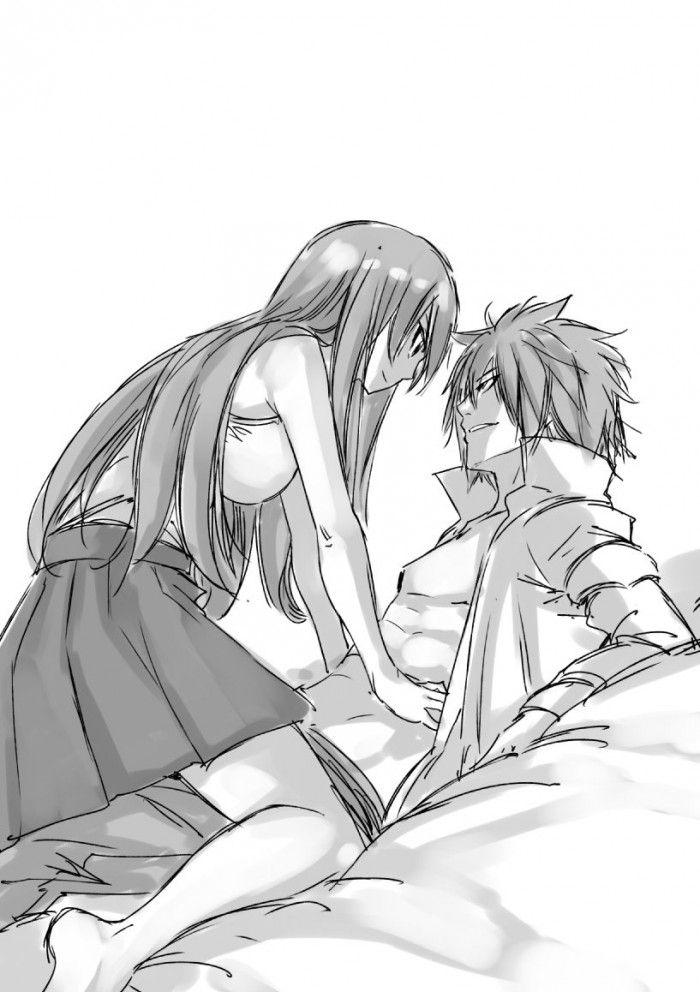 Dessins Fairy Tail Par Hiro Mashima Amour Chamailleries Et Strip